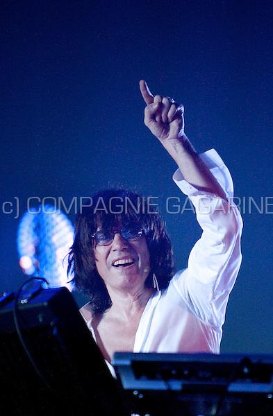 Jean Michel Jarre's concert in the Heineken Hall, Amsterdam, part of his In Doors World tour (Netherlands, 26/05/2009)