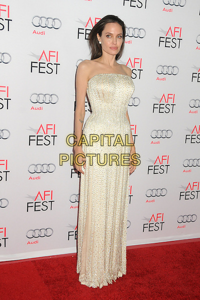 5 November 2015 - Hollywood, California - Angelina Jolie Pitt. AFI FEST 2015 - &quot;By The Sea&quot; Premiere held at the TCL Chinese Theatre.  <br /> CAP/ADM/BP<br /> &copy;BP/ADM/Capital Pictures