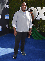 """LOS ANGELES - OCTOBER 4: Curt Menefee attends the kick-off event for the """"WWE Friday Night Smackdown on FOX"""" at Staples Center on October 4, 2019 in Los Angeles, California. (Photo by Frank Micelotta/Fox Sports/PictureGroup)"""
