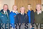 COISTE TRA? LI?: The Socr officiates at the Coiste Tra? Li? Scor held at Kerins O'Rahilly clubhouse on Thursday l-r: Jerry Savage, Breada Murphy, Jimmy Foley, Kay Healy and Brian Caball.