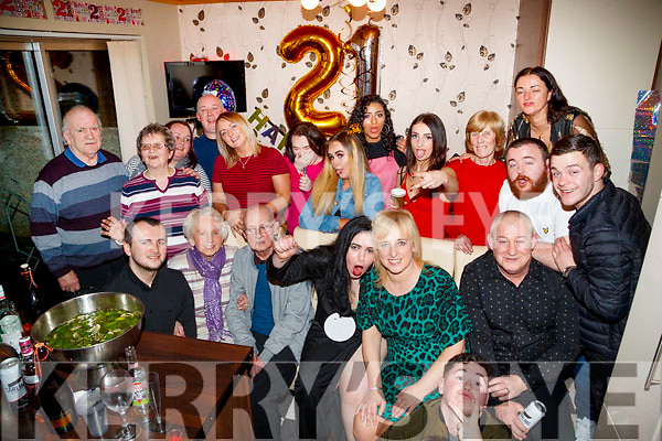 Nadia Chahine, Balloonagh, Tralee, who celebrated her 21st birthday with family and friends on Saturday night last.