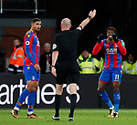 Crystal Palace's Wilfred Zaha appeals to referee Lee Mason for a decision during the premier league match at Selhurst Park Stadium, London. Picture date 12th December 2017. Picture credit should read: David Klein/Sportimage