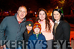 Ger, Brian, Anna, Conor and Fiona Riedy at the New year's eve fireworks in in Tralee.