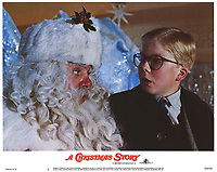 A Christmas Story (1983)<br /> Lobby card with Peter Billingsley &amp; Jeff Gillen<br /> *Filmstill - Editorial Use Only*<br /> CAP/KFS<br /> Image supplied by Capital Pictures
