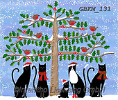 Kate, CHRISTMAS ANIMALS, WEIHNACHTEN TIERE, NAVIDAD ANIMALES, paintings+++++Christmas page 104 1,GBKM131,#xa#