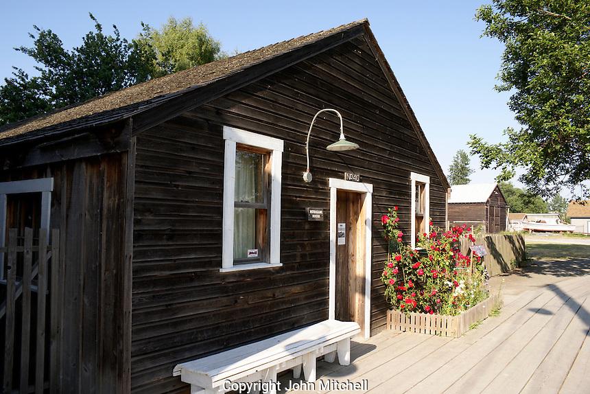 The Murakami House museum, Britannia Heritage Shipyard in the fishing village of Steveston near Vancouver, British Columbia, Canada