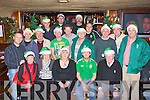 Killarney Celtic enjoying their Christmas Party in Charlie Foley's bar Killarney on Friday night front row l-r: Geraldine Templeman, Mary Lyne, Geraldine Fleming, Padraig O'Connor, Tom McCarthy. Middle row: John Joe Templeman, Mike Downing, Tim Cotter, Cathal Kissane, Mike Lyne, John Lyne, John O'Donoghue, Karl McMahon. Back row: Anthony Bennett, Kieran Fleming, Darren Cullinane, Tom Meehan and Roland Sauter .