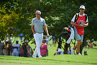 Rickie Fowler (USA) looks over the green on 3 during round 2 of the 2019 Tour Championship, East Lake Golf Course, Atlanta, Georgia, USA. 8/23/2019.<br /> Picture Ken Murray / Golffile.ie<br /> <br /> All photo usage must carry mandatory copyright credit (© Golffile | Ken Murray)