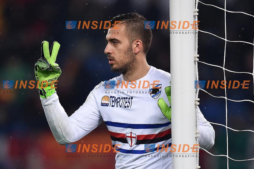 Emanuele Viviano Sampdoria <br /> Roma 16-03-2015 Stadio Olimpico Football Calcio Serie A 2014/2015 AS Roma - Sampdoria . Foto Andrea Staccioli / Insidefoto