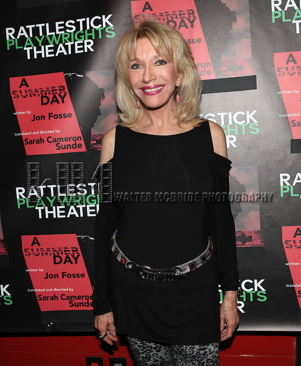 Pamela Shaw attending the Opening Night Performance of The Rattlestick Playwrights Theater Production of 'A Summer Day' at the Cherry Lane Theatre on 10/25/2012 in New York.
