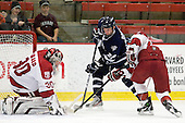 Raphael Girard (Harvard - 30), Grayson Downing (UNH - 28), Colin Blackwell (Harvard - 63) - The Harvard University Crimson defeated the University of New Hampshire Wildcats 7-6 on Tuesday, November 22, 2011, at Bright Hockey Center in Cambridge, Massachusetts.