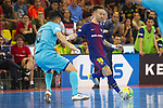 League LNFS 2017/2018.<br /> PlayOff Final-Game 4.<br /> FC Barcelona Lassa vs Movistar Inter FS: 3-3.<br /> FCB por penaltys.<br /> Daniel vs Mario Rivillos.