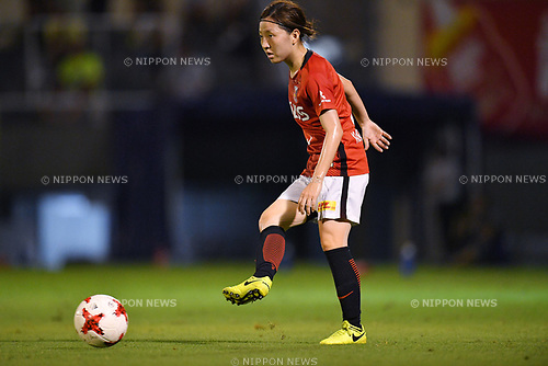 Akari Kurishima (Reds Ladies), <br /> AUGUST 12, 2017 - Football / Soccer : <br /> Plenus Nadeshiko League Cup 2017 Division 1 <br /> Final match between JEF United Ichihara Chiba Ladies 1-0 Urawa Reds Ladies<br /> at Nishigaoka Soccer Stadium in Tokyo, Japan. <br /> (Photo by MATSUO.K/AFLO)