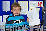 Winners of the Kerry county library writing competition Donagh McElligott, Dromclough N.S., Listowel,.