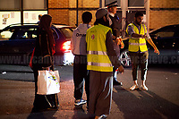 London, 14/06/2017. Documenting the aftermath of the tragic blaze of the Grenfell Tower and the immediate reaction of Londoners, and other members of the public, who actively rallied to assist the residents and the neighbours who survived this horrific fire, showing solidarity and donating food, water, toys and clothes.  <br />