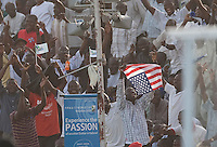 Fans. Italy defeated the US Under-17 Men's National Team 2-1 in Kaduna, Nigera on November 4th, 2009.