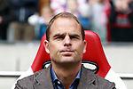 Nederland, Amsterdam, 7 oktober  2012.Seizoen 2012-2013.Eredivisie.Ajax-FC Utrecht.Frank de Boer, trainer-coach van Ajax