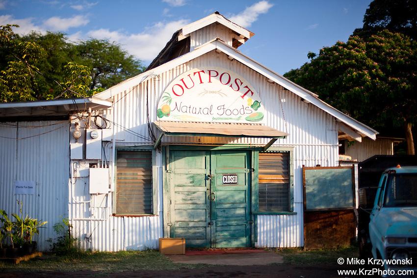 Outpost Natural Foods health food store in Kaunakakai, Moloka'i