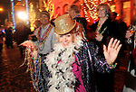 Mirenne Rosca at the Mardi Gras Ball at the Tremont House in Galveston Saturday Feb. 13,2010.(Dave Rossman Photo)