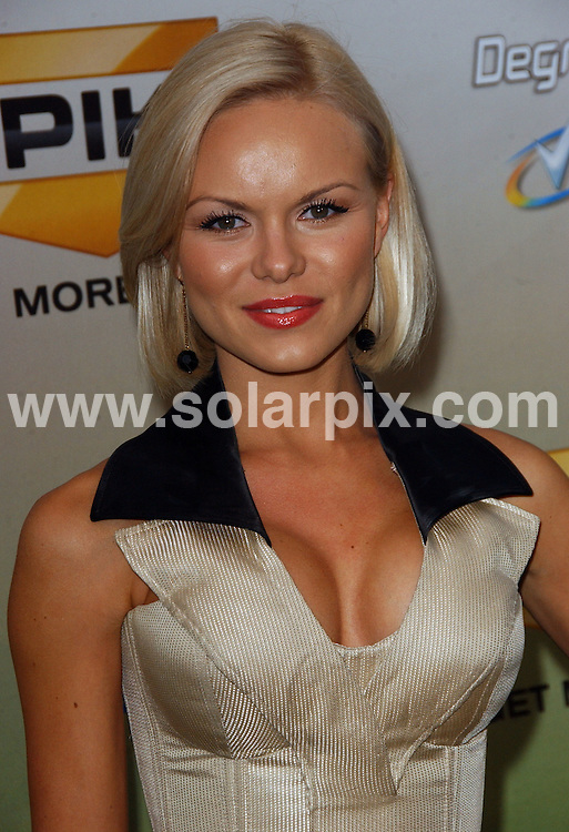 **ALL ROUND PICTURES FROM SOLARPIX.COM**.**SYNDICATION RIGHTS FOR UK, AUSTRALIA, DENMARK, PORTUGAL, S. AFRICA, SPAIN & DUBAI (U.A.E) ONLY**.arrivals for the 2009 SpikeTV's Guy's Choice Awards. Held at Sony Studios, Culver City, CA. USA. 30 May 2009..This pic: Anya Monzikova..JOB REF: 9131 PHZ (Ortega)   DATE: 30_05_2009.**MUST CREDIT SOLARPIX.COM OR DOUBLE FEE WILL BE CHARGED**.**ONLINE USAGE FEE GBP 50.00 PER PICTURE - NOTIFICATION OF USAGE TO PHOTO @ SOLARPIX.COM**.**CALL SOLARPIX : +34 952 811 768 or LOW RATE FROM UK 0844 617 7637**