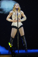 Madonna performs at the Forum on Monday May 24, 2004