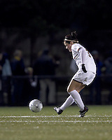 "Boston College forward Maddie Payne (3) passes the ball. Boston College defeated West Virginia, 4-0, in NCAA tournament ""Sweet 16"" match at Newton Soccer Field, Newton, MA."