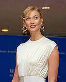 Karlie Kloss arrives for the 2016 White House Correspondents Association Annual Dinner at the Washington Hilton Hotel on Saturday, April 30, 2016.<br /> Credit: Ron Sachs / CNP<br /> (RESTRICTION: NO New York or New Jersey Newspapers or newspapers within a 75 mile radius of New York City)