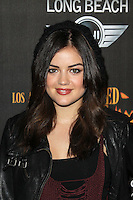 LOS ANGELES, CA - OCTOBER 07: Lucy Hale at the 4th Annual Los Angeles Haunted Hayride - 'The Congregation' - Arrivals held at Griffith Park on October 7, 2012 in Los Angeles, California. © mpi22/MediaPunch Inc. /©NortePhoto