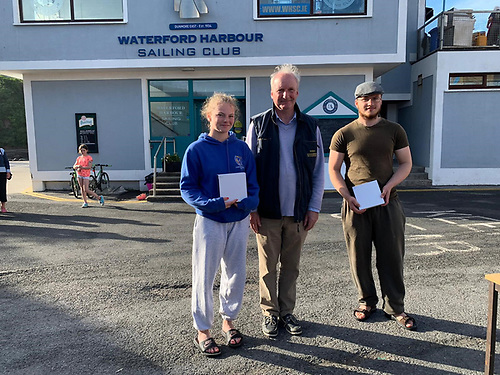 2nd Place Silver - Imogen Hauer and Hugo Micka Malahide Yacht Club