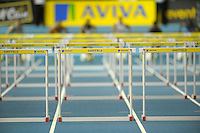 Photo: Ady Kerry/Richard Lane Photography.. Aviva European Trials and UK Championships, 15/02/2009..60m hurdles first heat.