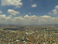 SAO PAULO, SP, 26-01-2014, CLIMA TEMPO. Tarde ensolarada nesse domingo (26), como pode ser visto nas fotos aereas da região do bairro da Mooca. Luiz Guarnieri/ Brazil Photo Press.
