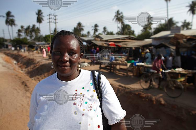 Sophia Kitenba, chairperson of Bagamoyo Women's Development Network and Saving Credit Co-operative Society.