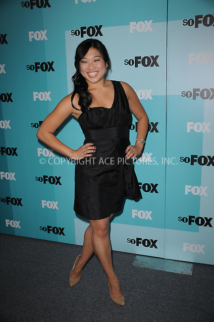 WWW.ACEPIXS.COM . . . . . ....May 18 2009, New York City....Jenna Ushkowitz attending the 2009 FOX UpFront after party at the Wollman Rink in Central Park on May 18, 2009 in New York City.....Please byline: KRISTIN CALLAHAN - ACEPIXS.COM.. . . . . . ..Ace Pictures, Inc:  ..tel: (212) 243 8787 or (646) 769 0430..e-mail: info@acepixs.com..web: http://www.acepixs.com