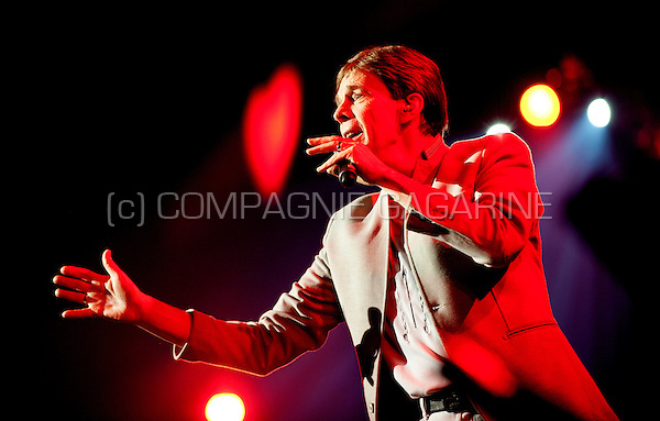 Flemish singer Paul Severs in concert at the Schlagerfestival in Hasselt (Belgium, 31/03/2013)