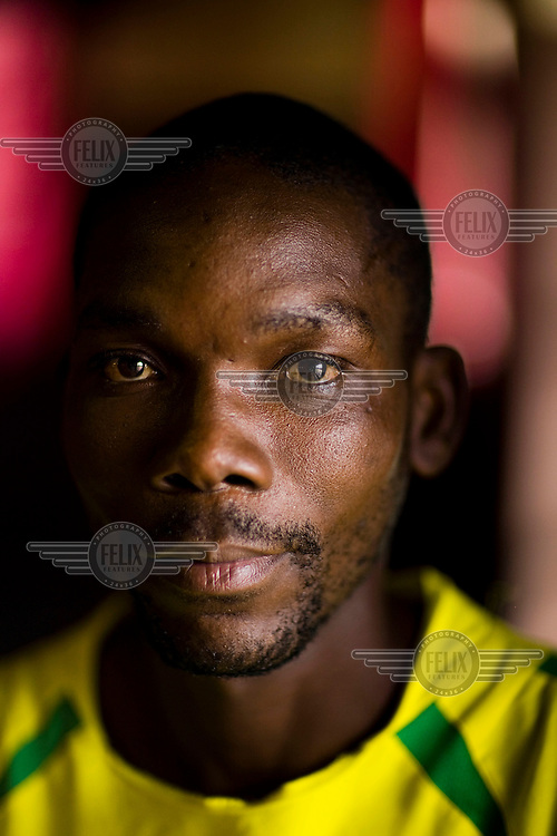 """27 year old Sibrangi has been the victim of political violence due to his opposition to the ruling Zanu PF. He says, """"Independent and MDC (Movement for Democratic Change) in Zimbabwe is the same."""" He was intimidated by war veterans in the run up to the 2008 election. He says, """"At that time everybody was afraid of being the opposition. When they knew you are an opposition supporter, law or order do not work to your advantage."""""""