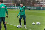 17.01.2020, Trainingsgelaende am wohninvest WESERSTADION,, Bremen, GER, 1.FBL, Werder Bremen Training ,<br /> <br /> <br />  im Bild<br /> <br /> Marco Friedl (Werder Bremen #32)<br /> Einzelaktion, Ganzkörper / Ganzkoerper<br /> Gestik, Mimik,<br /> Foto © nordphoto / Kokenge