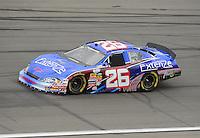 Oct. 3, 2009; Kansas City, KS, USA; NASCAR Nationwide Series driver Kevin Conway during the Kansas Lottery 300 at Kansas Speedway. Mandatory Credit: Mark J. Rebilas-