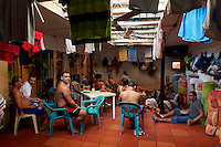 Establecimiento Carcelario de Reclusion Especial in Sabana Larga, a medium security prison with an official capacity of 50 inmates, although it houses over 100. Consequently many sleep on the floor.