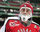 Derick Roy (NU - 1) - The Northeastern University Huskies defeated the University of Massachusetts Lowell River Hawks 4-1 (EN) on Saturday, January 11, 2014, at Fenway Park in Boston, Massachusetts.