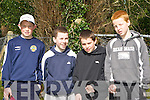 Taking part in The Community Games Pitch and Putt competition held in Tralee Pitch and Putt Club on Saturday morning were l/r Kiernan Murphy, Glenflesk, Gavin Kelly, Glenflesk, Dara Sheehy, Oakpark and Barry McLovin, St. Brendan's Pk.