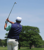 Craig Thomas tees off on the 4th Hole of Garden City Country Club during the Polo / Ralph Lauren Metropolitan PGA Head Professional Championship on Wednesday, May 30, 2018.