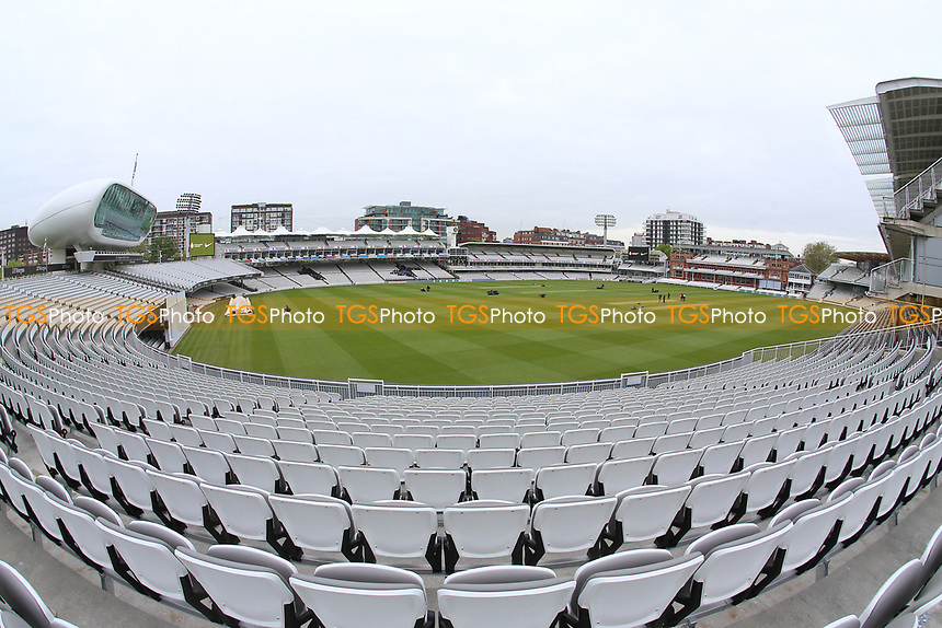 General view of the ground ahead of Middlesex CCC vs Essex CCC, Specsavers County Championship Division 1 Cricket at Lord's Cricket Ground on 21st April 2017