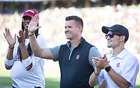 Stanford, CA - September 21, 2019: Jeff Austin at Stanford Stadium. The Stanford Cardinal fell to the Oregon Ducks 21-6.
