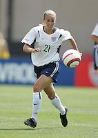 Heather Mitts, USA v Mexico, 2004.