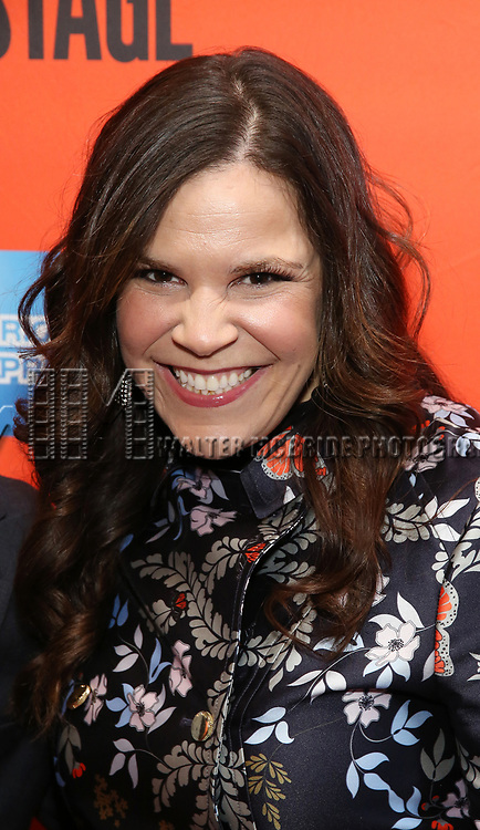 """Lindsay Mendez attending the Broadway Opening Night Performance of  """"Lobby Hero"""" at The Hayes Theatre on March 26, 2018 in New York City."""