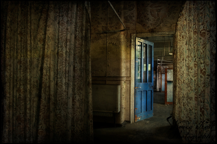 Ward in an abandoned asylum