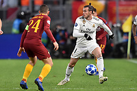 Gareth Bale Real, Alessandro Florenzi Roma.<br />  during the Uefa Champions League 2018/2019 Group G football match between AS Roma and Real Madrid at Olimpico stadium Allianz Stadium, Rome, November, 27, 2018 <br />  Foto Antonietta Baldassarre / Insidefoto
