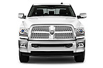 Car photography straight front view of a 2015 Ram 2500 Laramie 4 Door Van