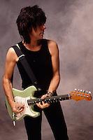 Jeff Beck; Studio ; New York; 1999.Photo Credit: Eddie Malluk/Atlas Icons.com