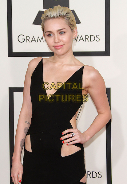 08 February 2015 - Los Angeles, California - Miley Cyrus. 57th Annual GRAMMY Awards held at the Staples Center.<br /> CAP/ADM<br /> &copy;AdMedia/Capital Pictures